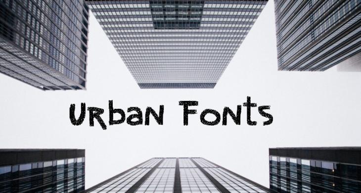 28+ Urban Fonts - TTF, OTF Download | Design Trends - Premium PSD