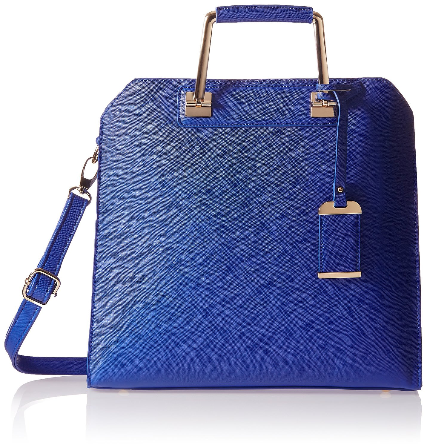 KNY Women Blue Handbag