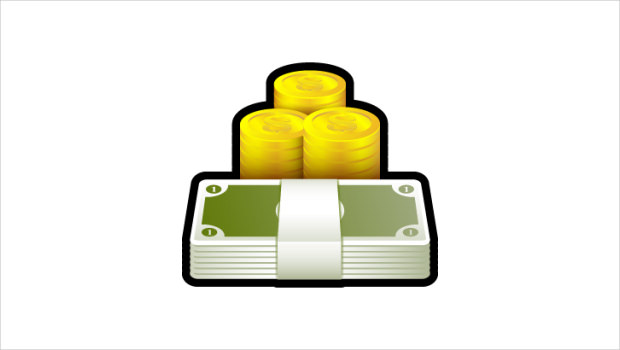 Sleek Xp Basic Money Icon