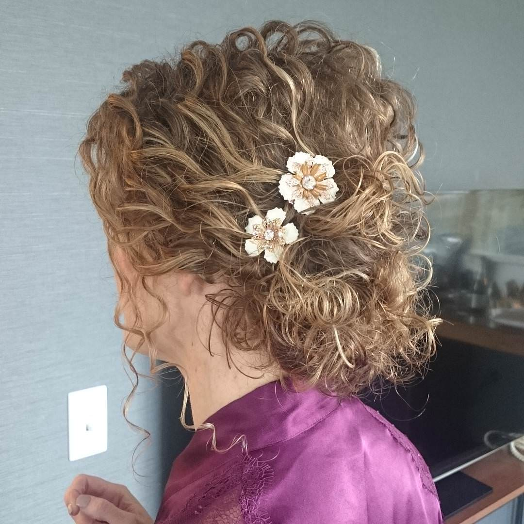 27 Updos For Curly Hair Designs Ideas Hairstyles Design Trends