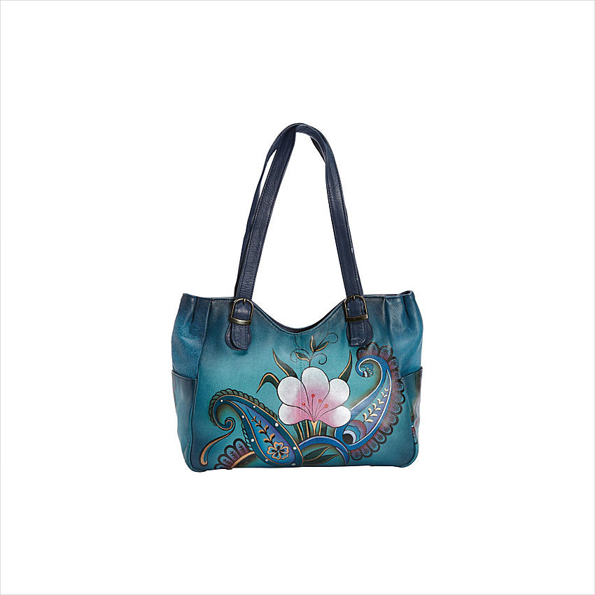 Hand Painted Medium Shoulder Bag