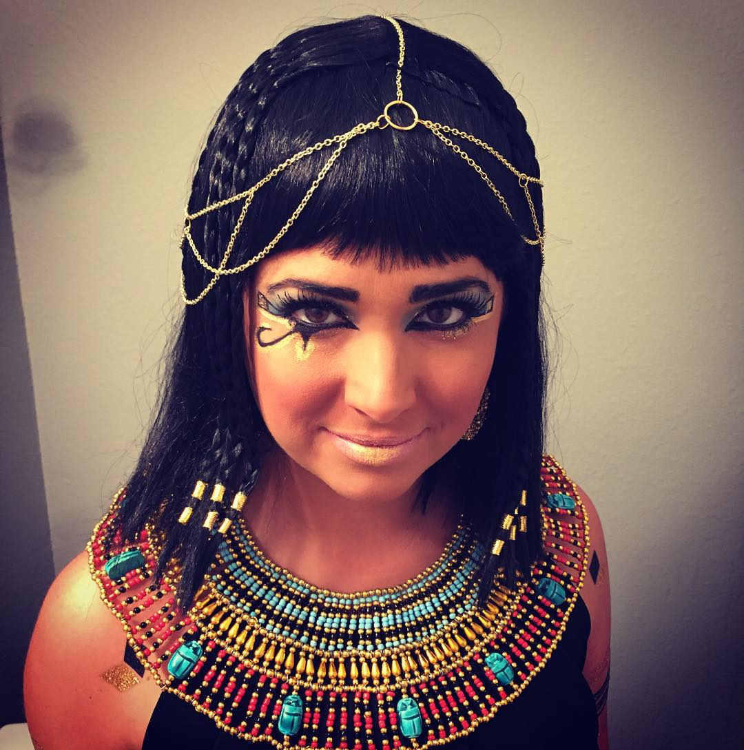 Queen of the Nile Makeup