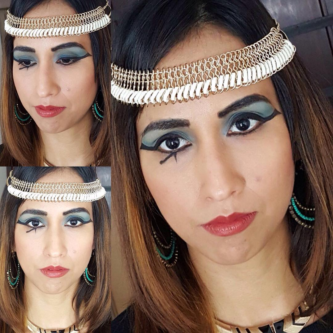 Egyptian Cleopatra Makeup