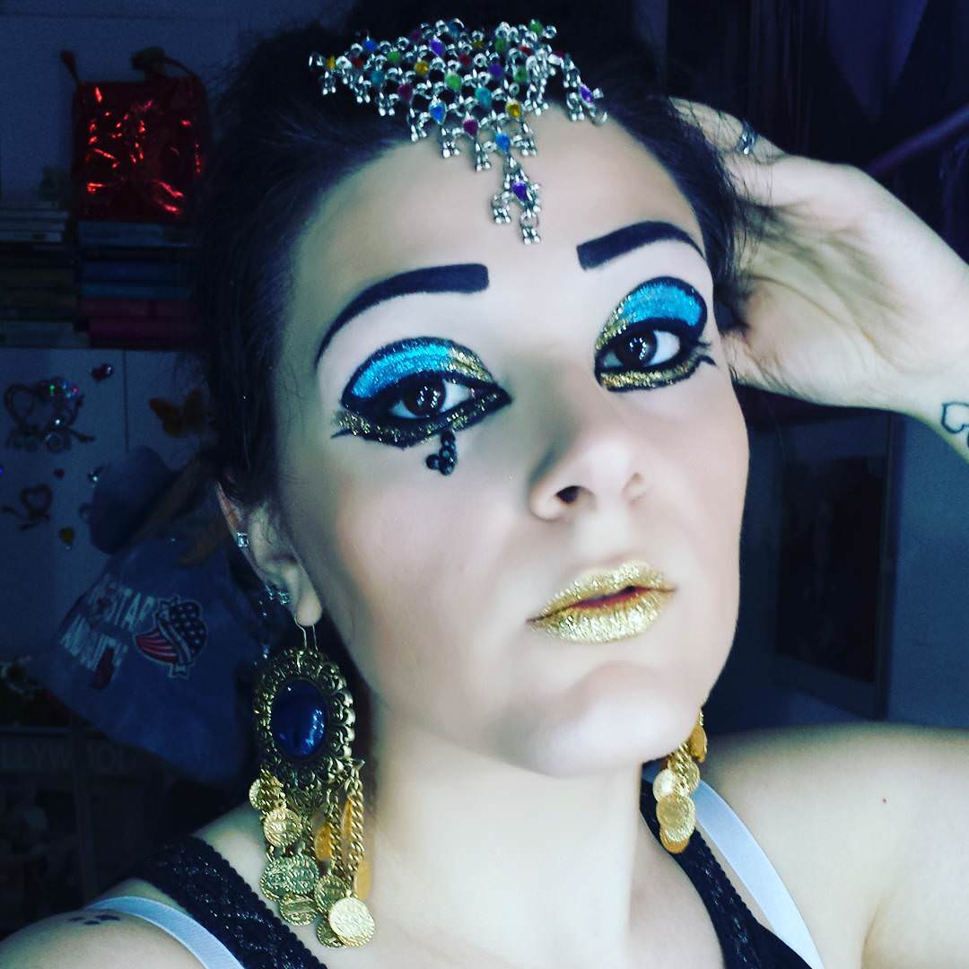 Glitter Princess Makeup