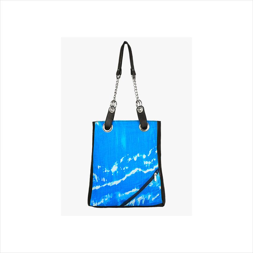 La Volsa Blue Handbag