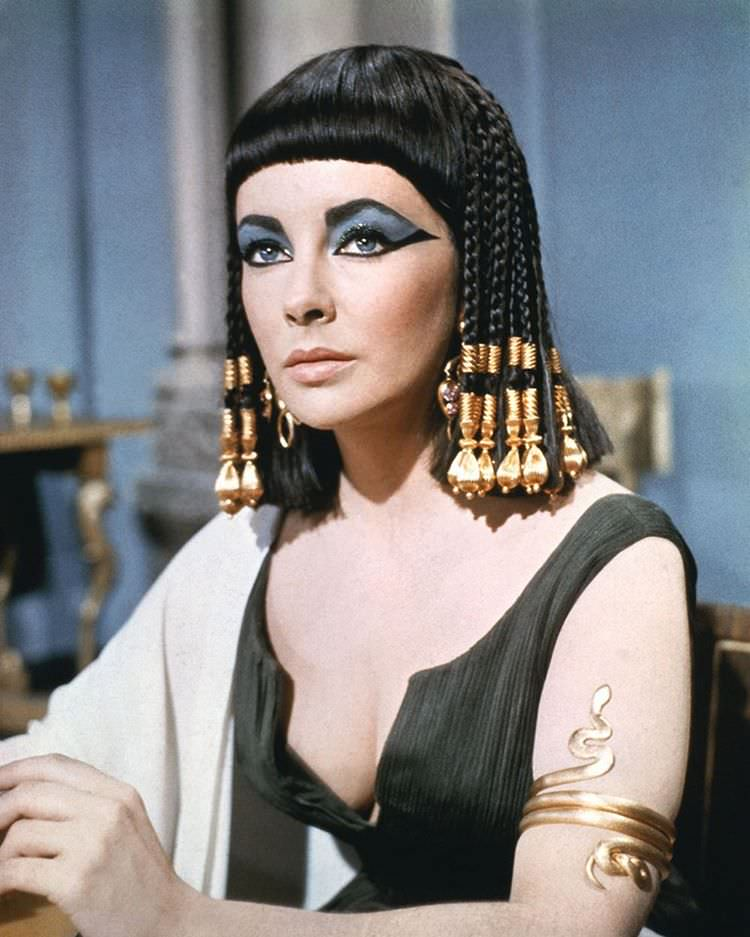 Vintage Makeup of Cleopatra