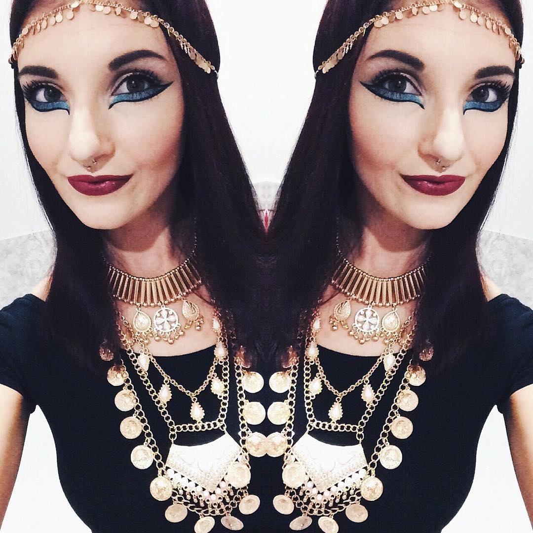 Egyptian Inspired Makeup