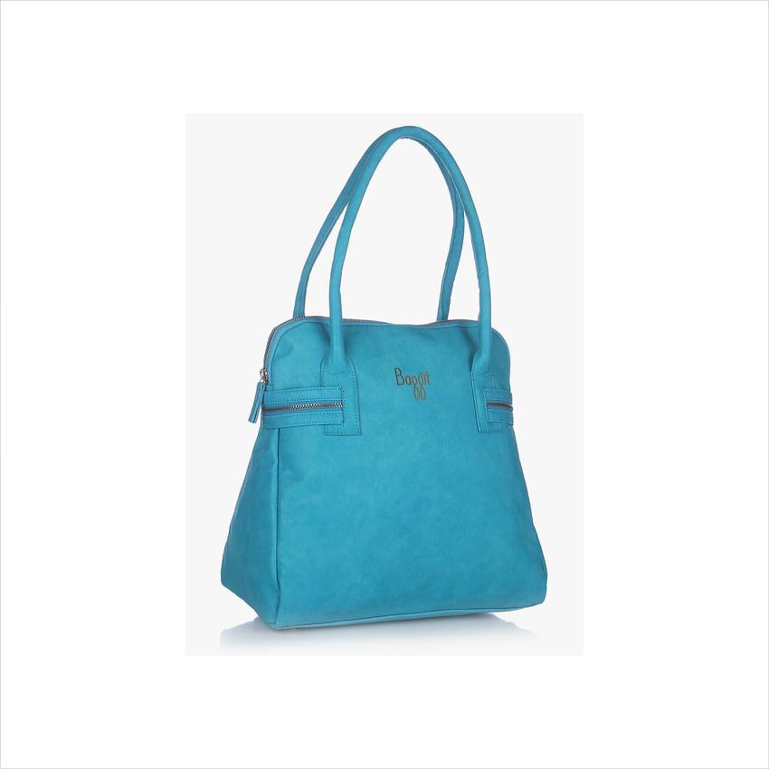 Baggit-L Infinity Forestdew Aqua Handbag