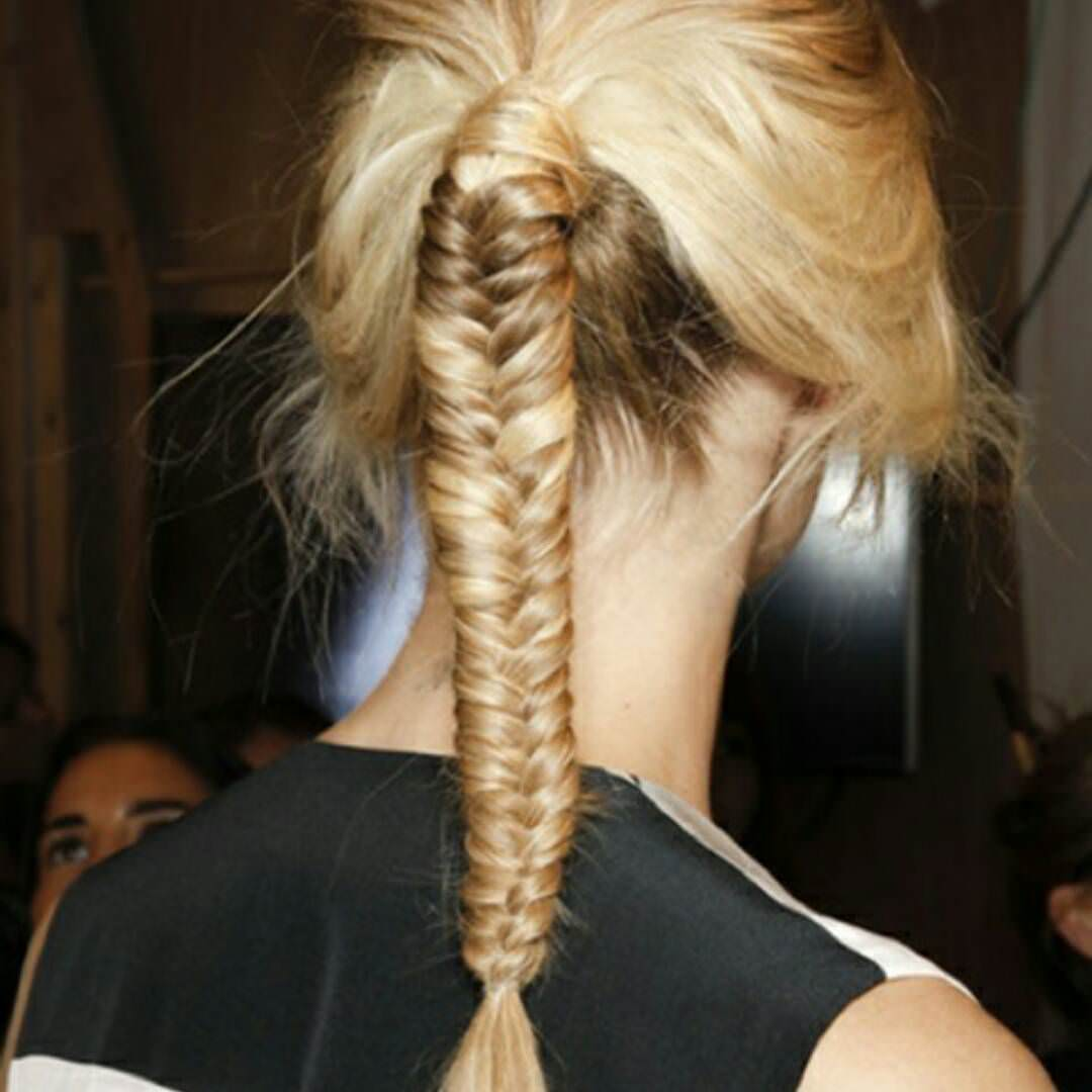 Long Fishtail Pony