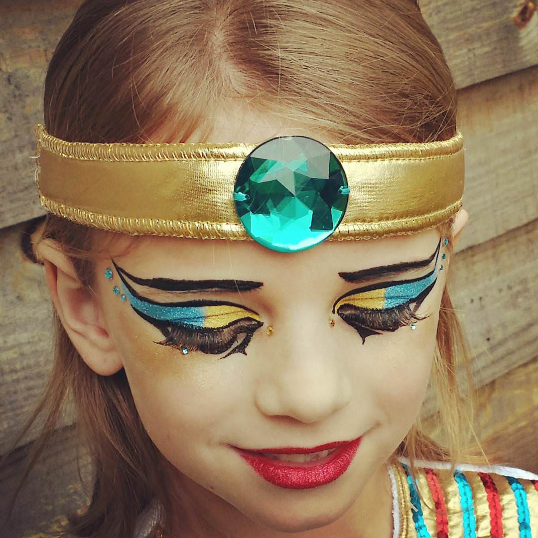 Cleopatra Makeup For Kids