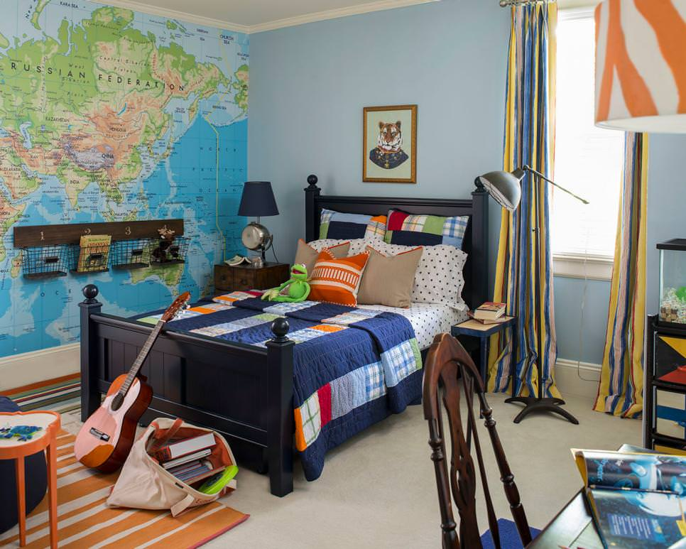 20 teen boys bedroom designs decorating ideas design for Male teenage bedroom ideas