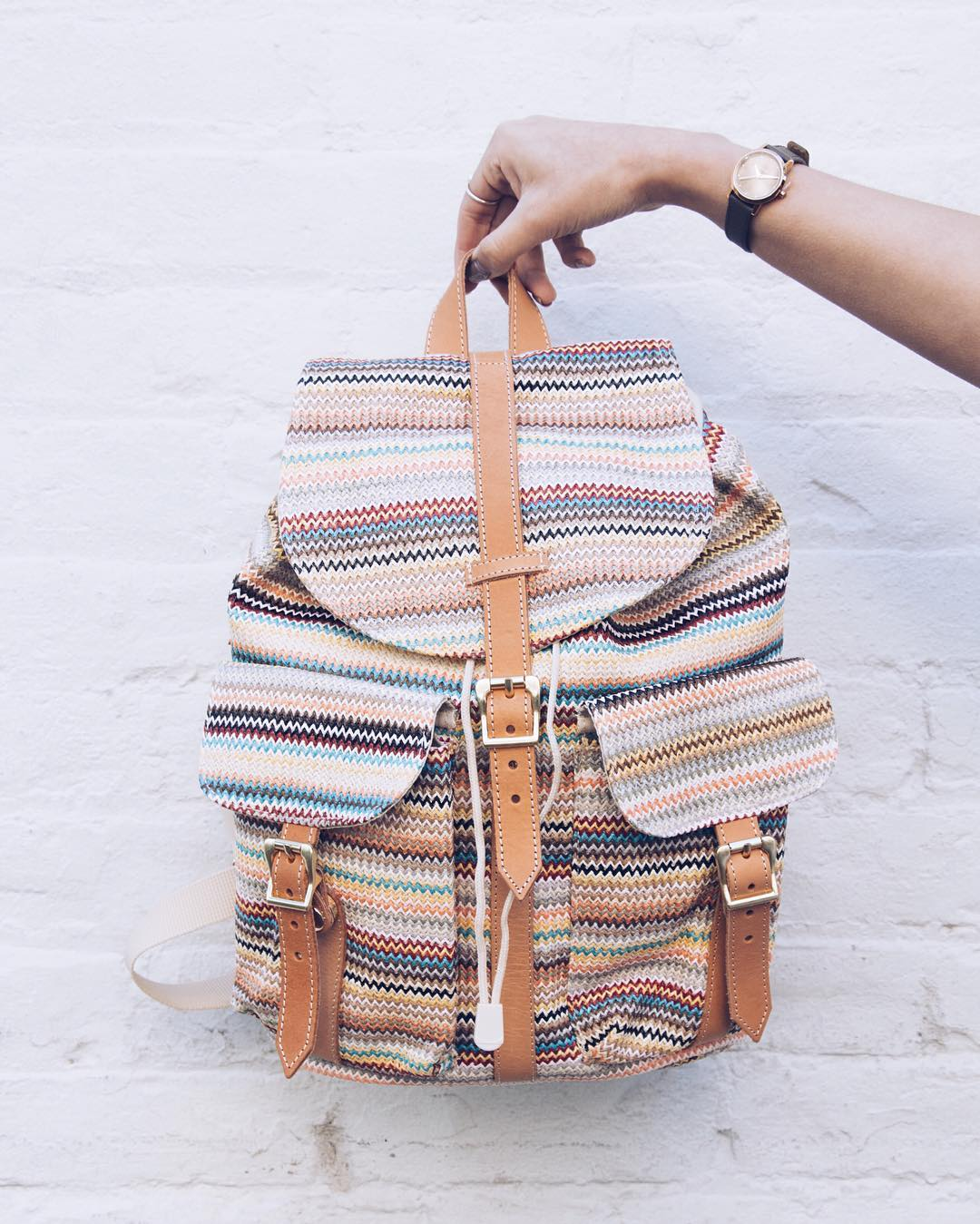 Designer Backpack Handbag