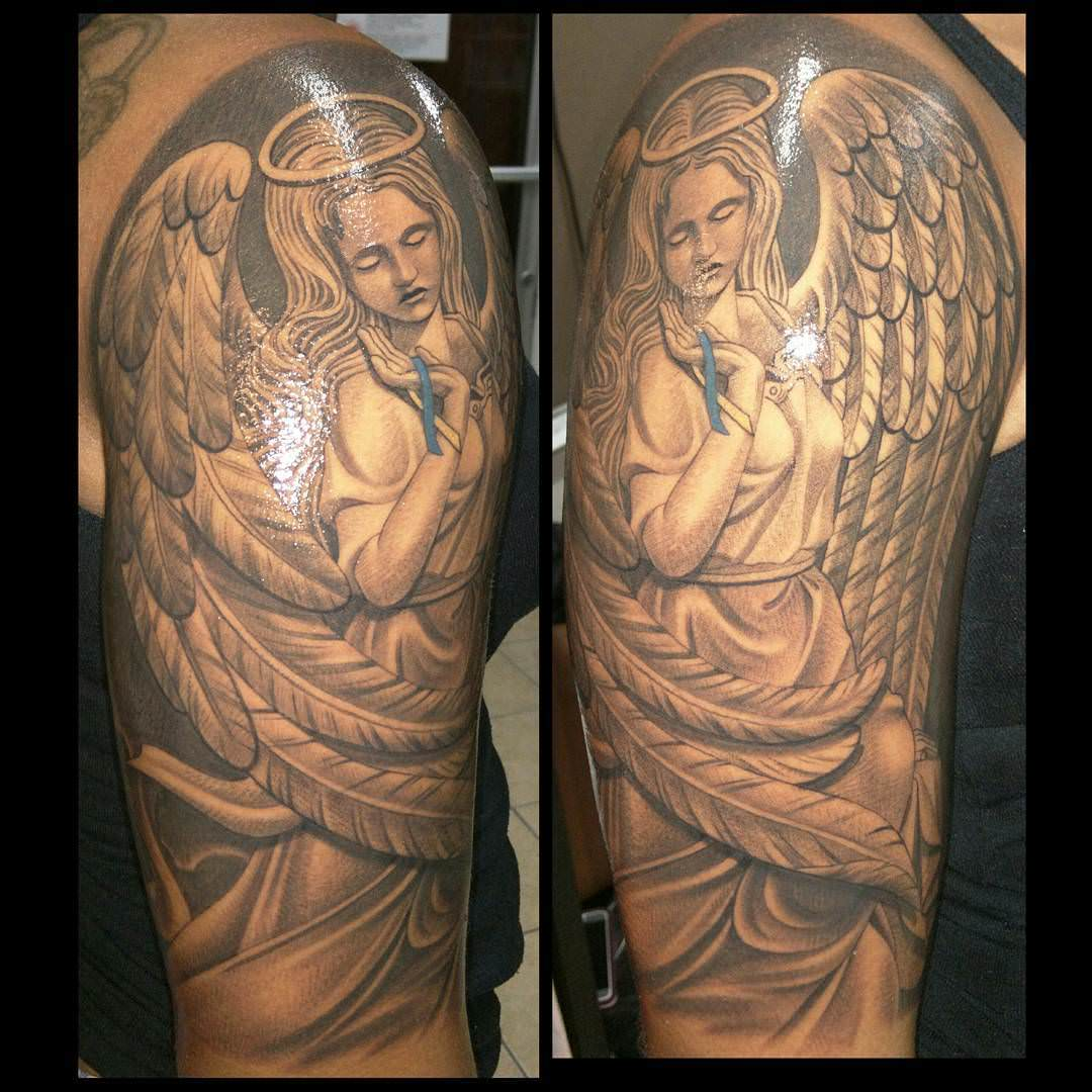 Beautiful Women Sleeve Tattoo