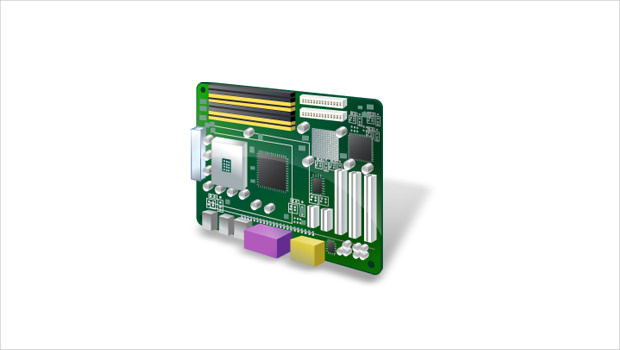 Motherboard Hardware Technology Icon