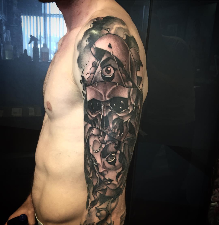 Trendy Look Tattoo for Men