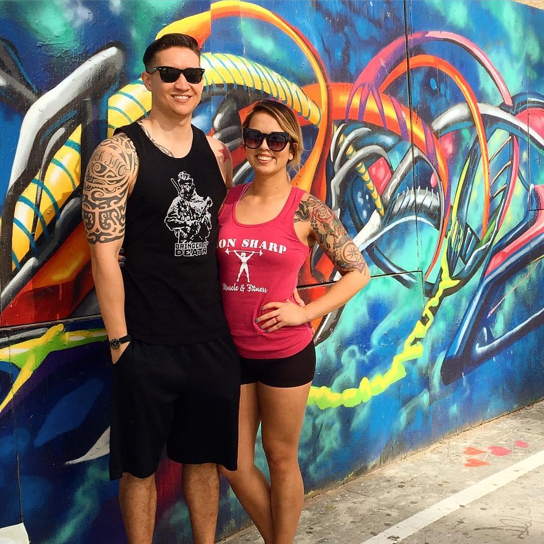Couple Sleeve Tattoo Design
