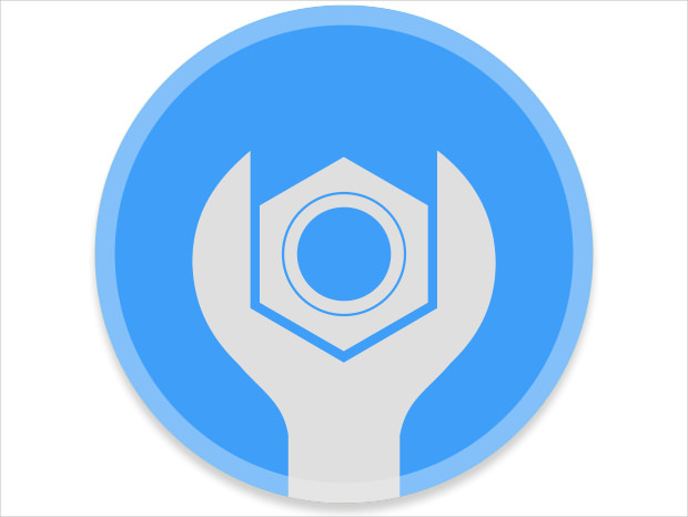 button of light icon