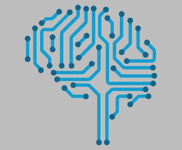 Artificial Intelligence Brain Icon