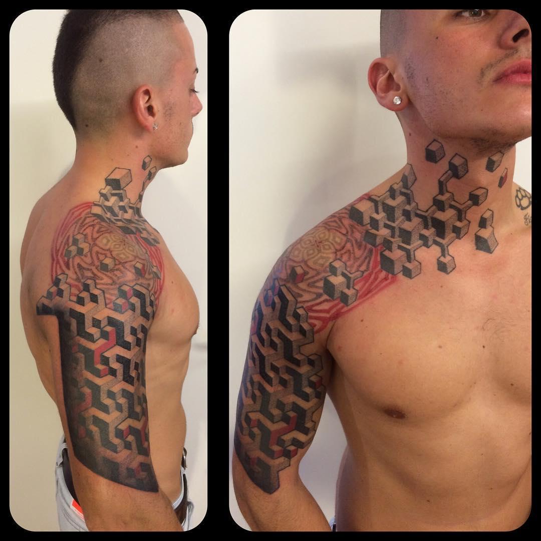 Creative Tattoo Design for Men