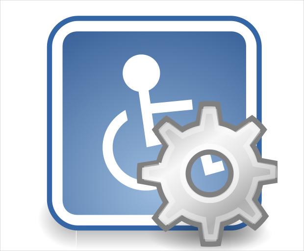 desktop technology icon for settings