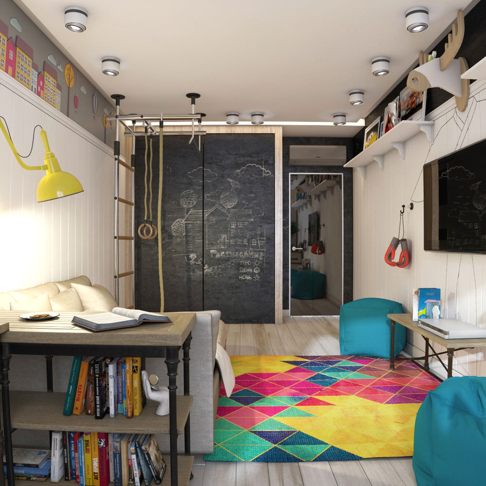 Teen Boys Study Room Idea