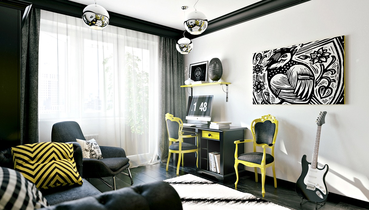 Funky Teen Boys Room Ideas