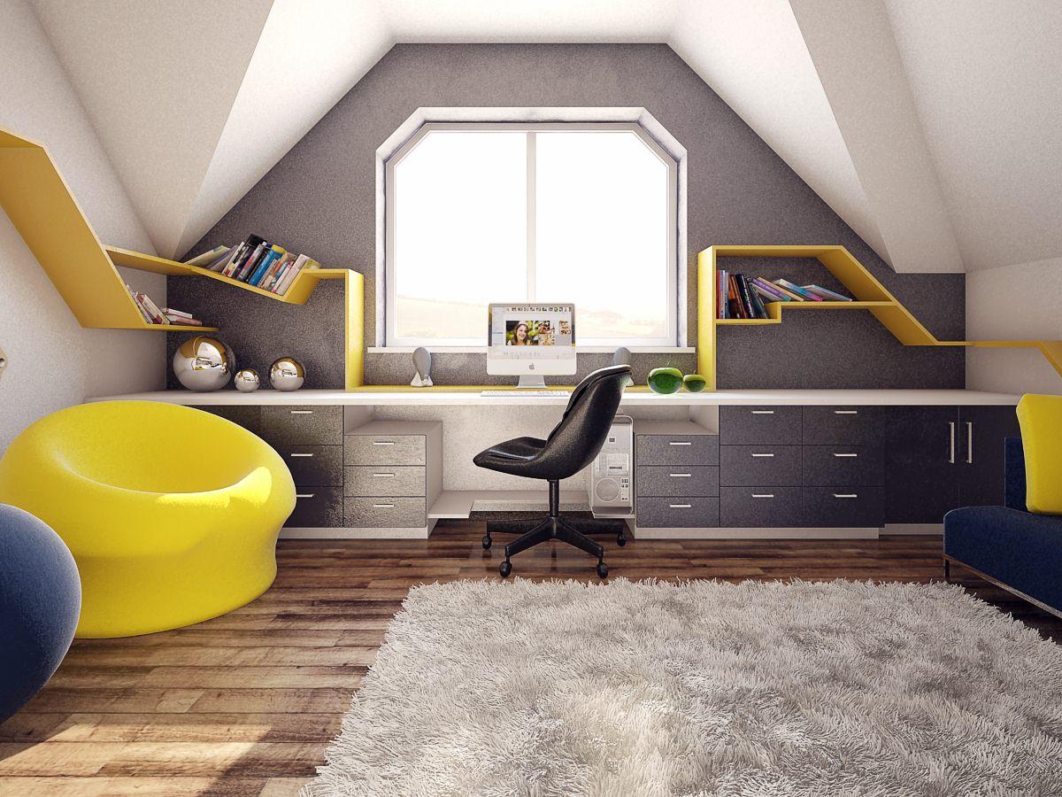 Spacious Teen Study Desk