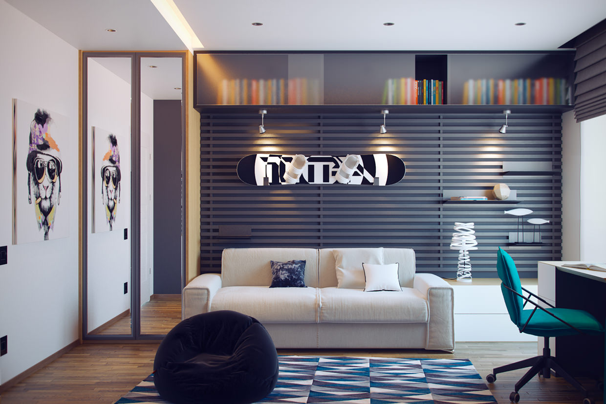 Exceptional Amazing Teen Boys Room Design