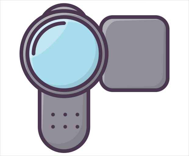 electronics device camera icon
