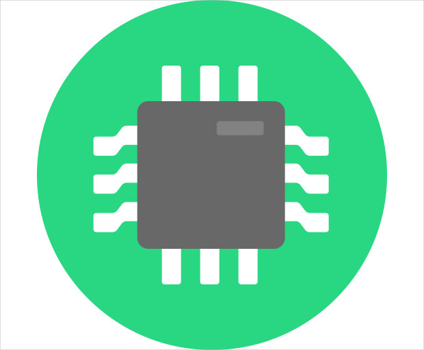 Business Chip Digital Icon