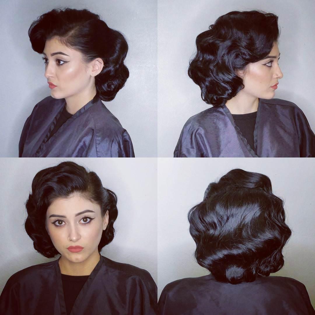 Vintage Black Hair