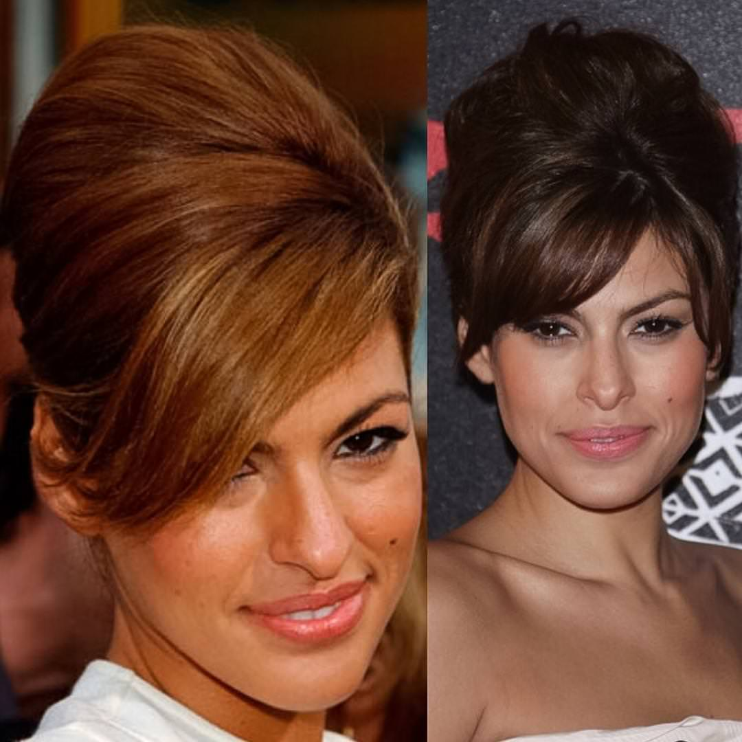 Sidepart Hair Updo