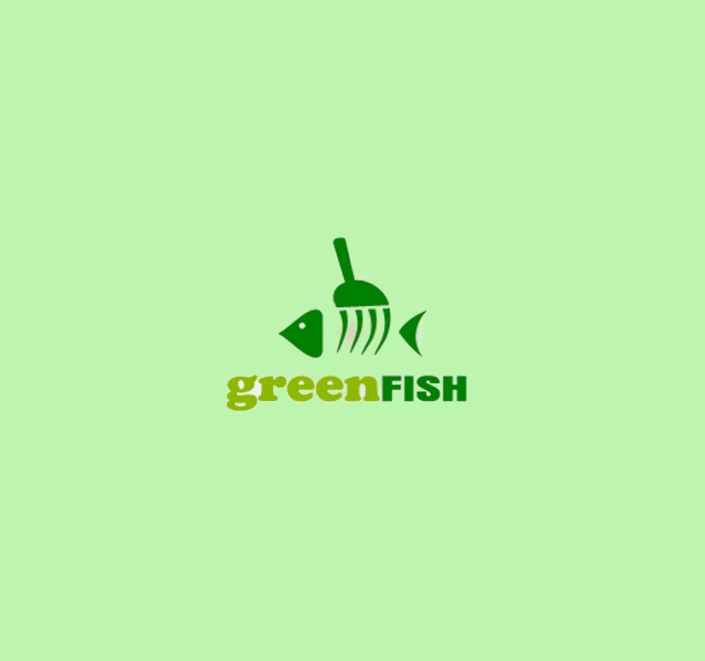 green fish logo design1