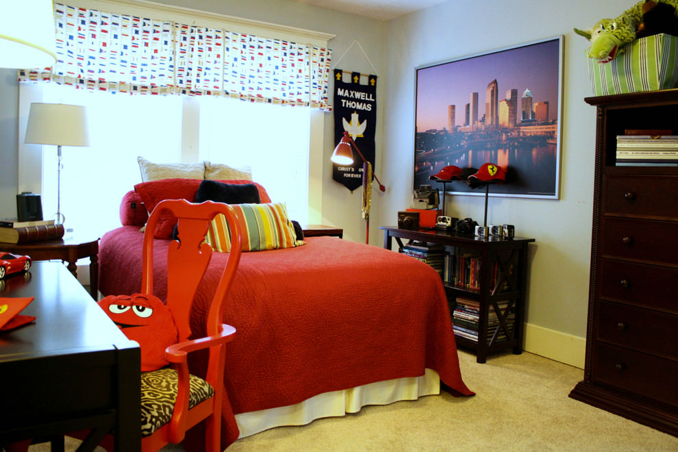 Sassy Teen Boys Bedroom