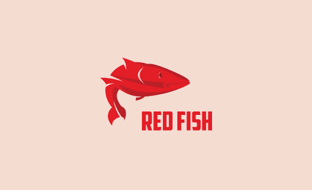 Fish Bone Logo Design