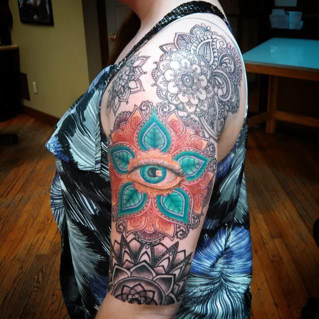 eye tattoo for women