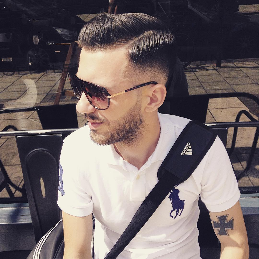 Modern Men Haircut