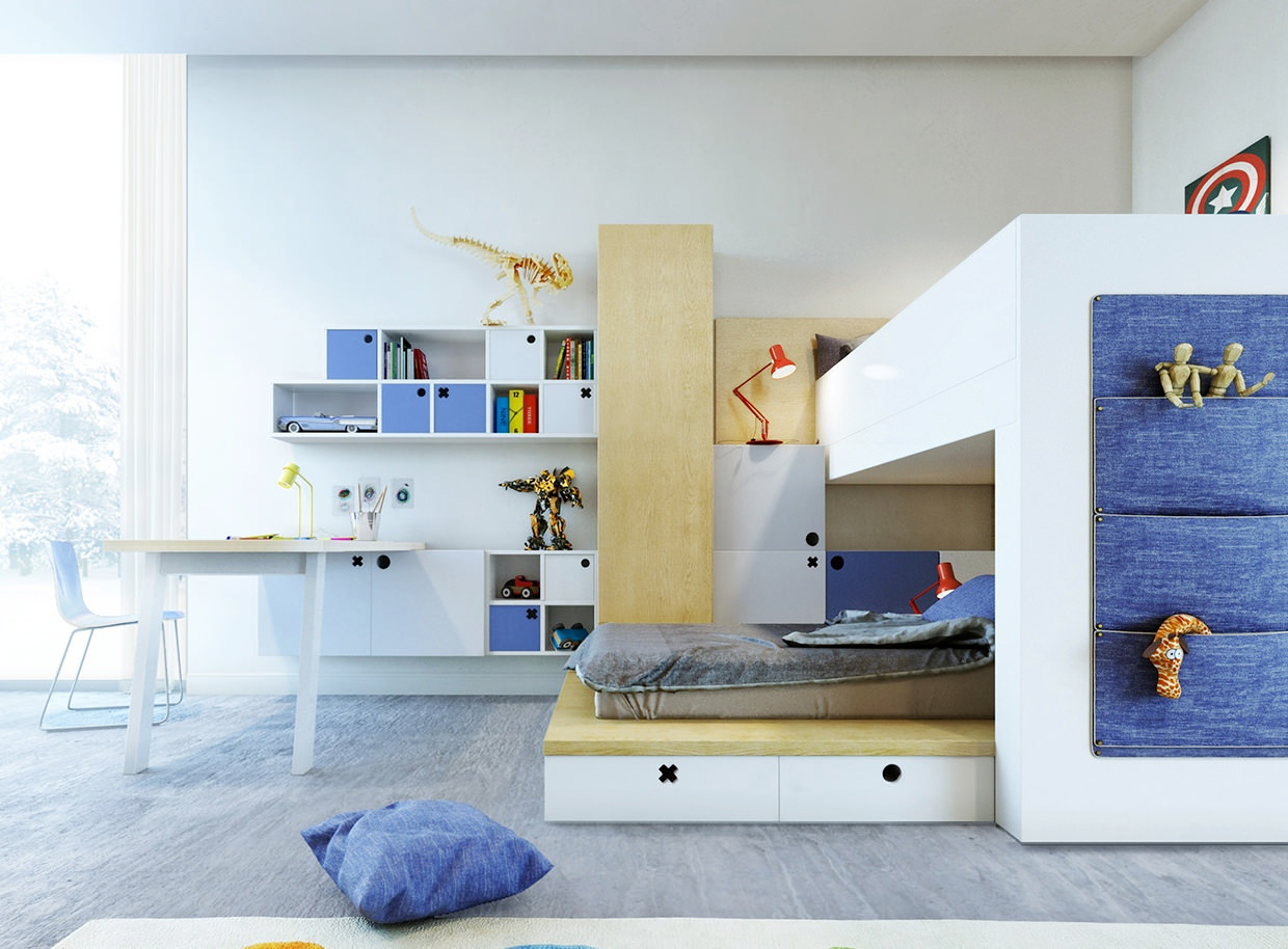 25+ kids study room designs, decorating ideas | design trends