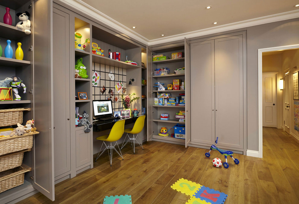Charming Kids Study Room Design