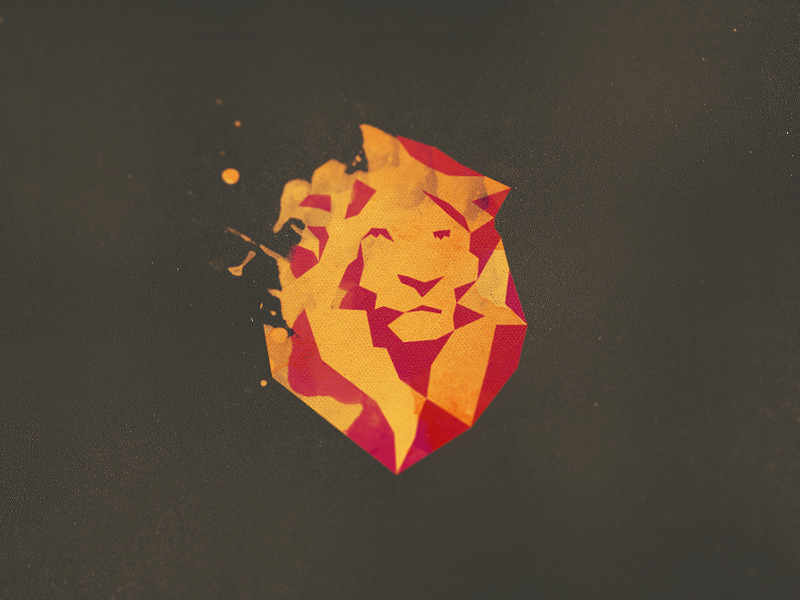 Awesome Lion Logo