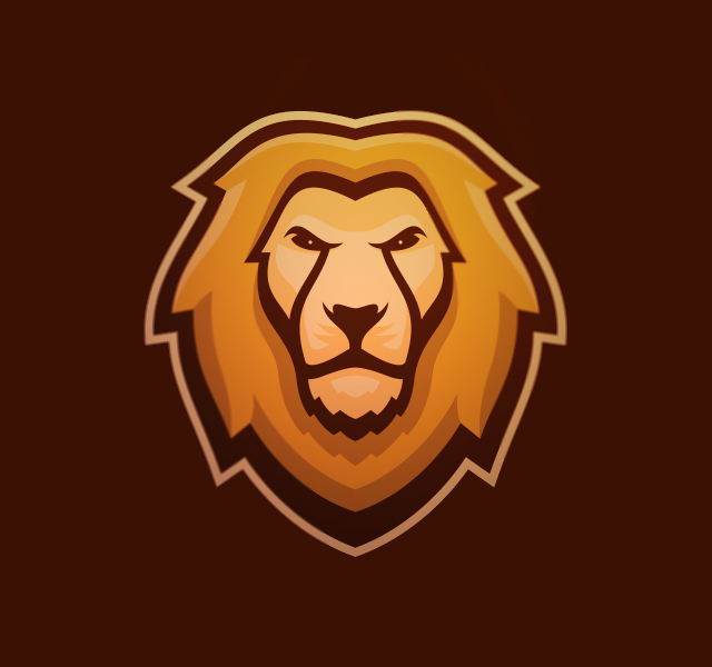 Lion Logo for Sports
