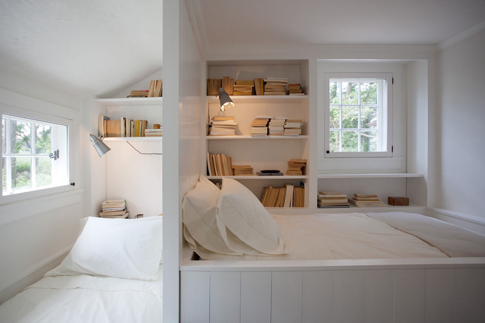 White Space Saving Beds