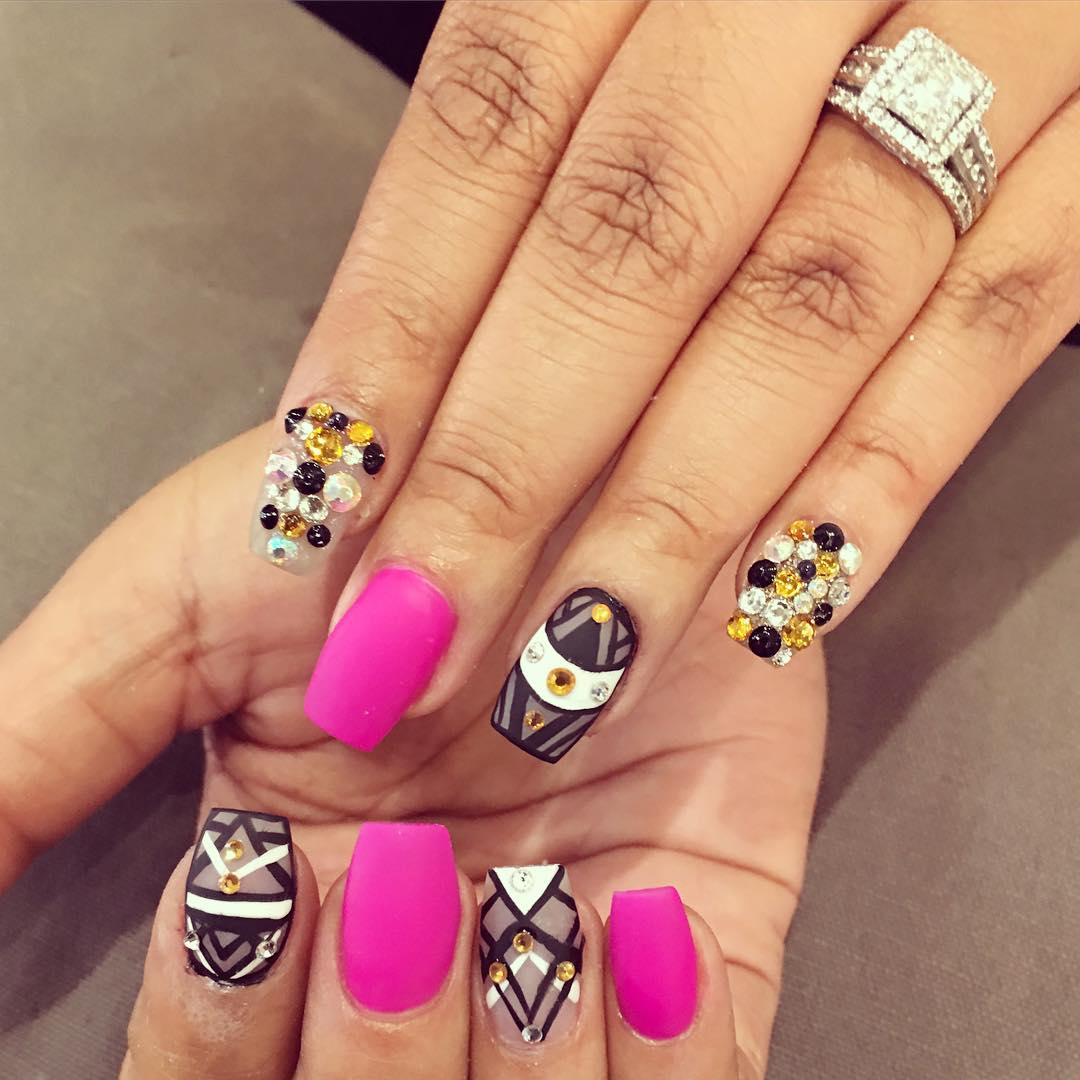 27+ Funky Nail Art Designs, Ideas | Design Trends ...