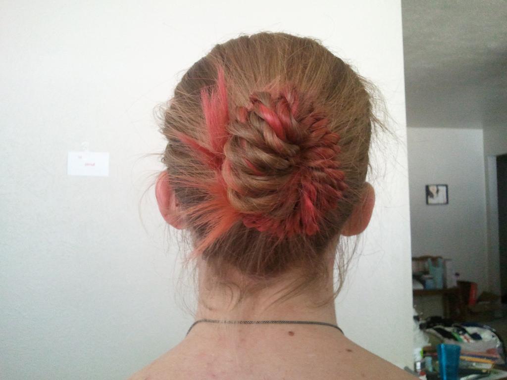 Twisted Bun hair style