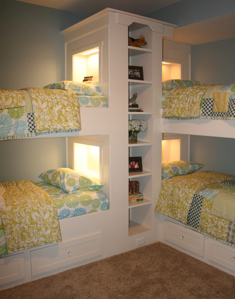 Custom Space Saving Bunk Bed