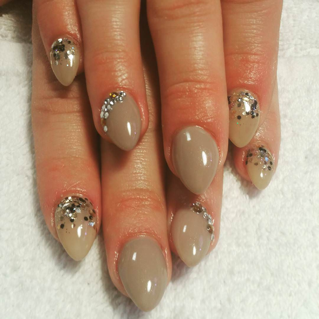 Short Round Funky Nails