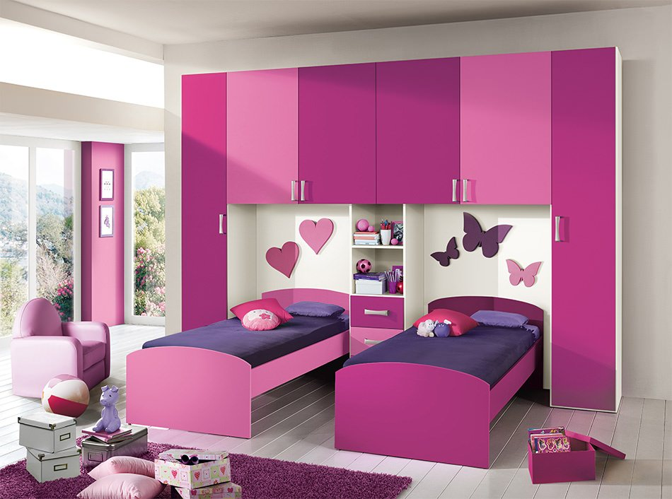 modish girls bedroom designs