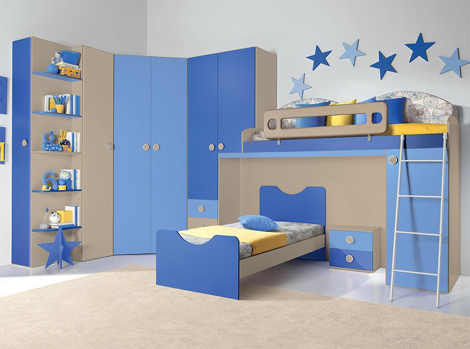 24 modern kids bedroom designs decorating ideas design for Kid room decor
