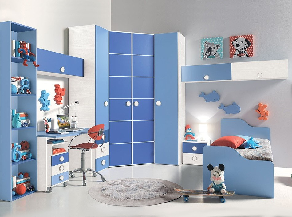 24 modern kids bedroom designs decorating ideas design for Modern kids furniture