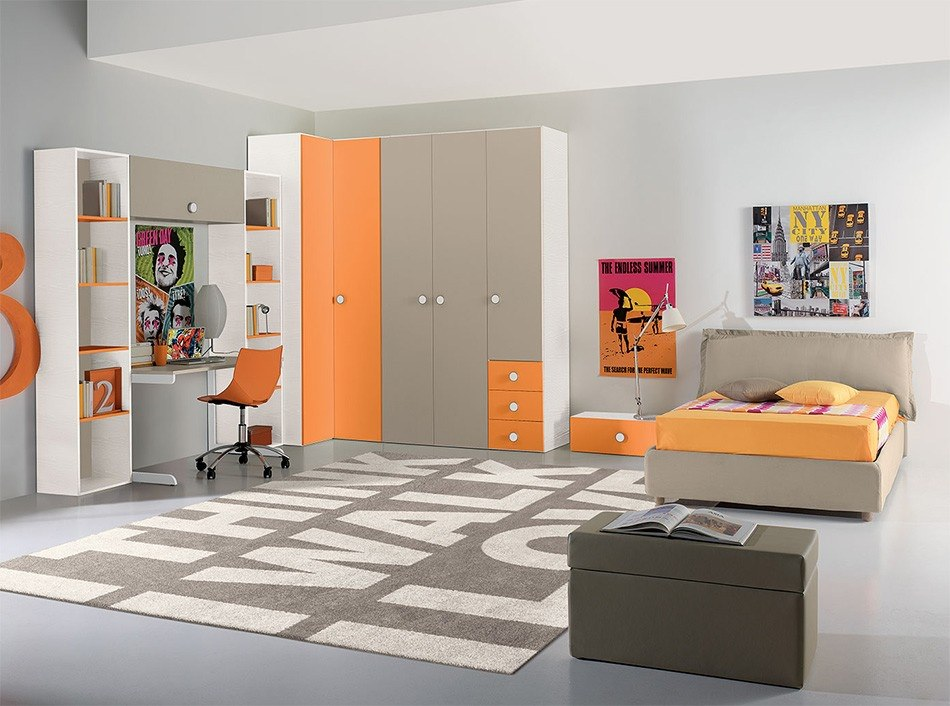24 modern kids bedroom designs decorating ideas design for Custom bedroom designs